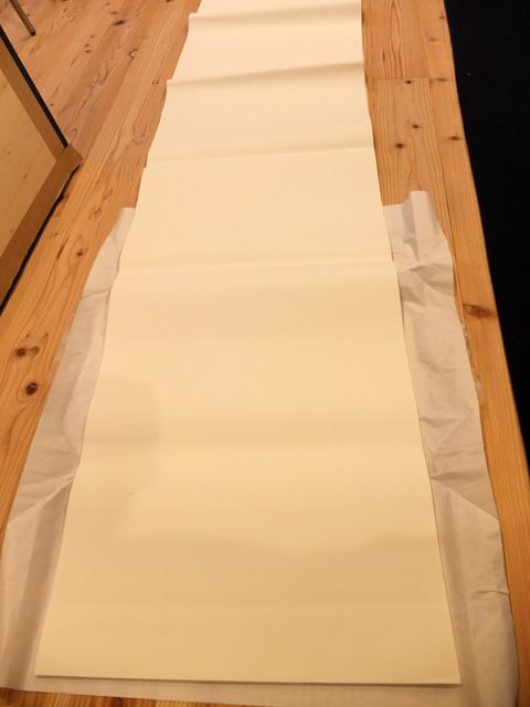 和紙 広げる