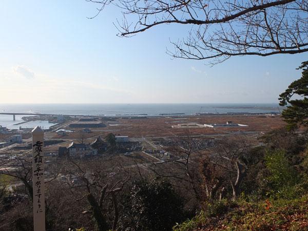 日和山神社からの風景