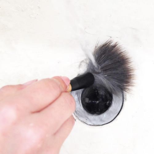 筆の洗い方3
